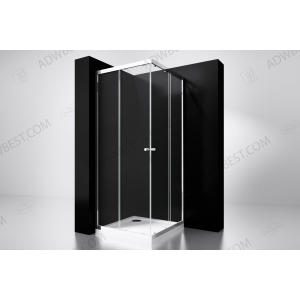 Best-Design  'Project' douche hoekinstap 80x80x190cm glas 5mm